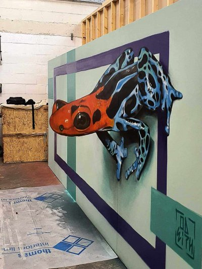 Odeith artwork for Heathrow airport - 2020